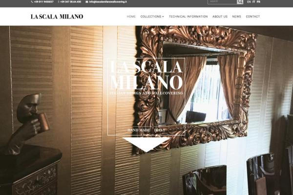 La Scala Milano Wallcovering